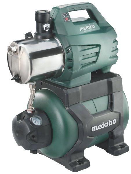 Насос Metabo HWW 6000/25 Inox [600975000]Насосы<br>Комплект поставки:<br>- Насосная станция Metabo HWW 6000/25 Inox<br>- Уплотнительная лента для резьбы<br>- Обратный клапан<br>- Картонная коробка.<br><br>Особенности модели:<br>- Удобство переноски - Ручка обеспечивает удобство транспортировки насосной станции Metabo HWW 6000/25 Inox.<br>- Точная работа - Манометр позволяет контролировать давление во время работы.<br>- Устойчивость - Насосную станцию можно закрепить с помощью шурупов для устойчивого положения во время работы. Опорные ножки большой площади с резиновые накладками.<br>- Система защиты от сухого хода Metabo Pump Protection - в случае пропадания...<br>