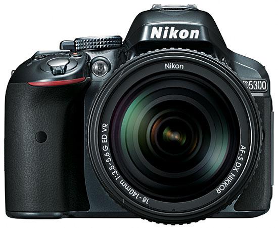 Зеркальный фотоаппарат Nikon D5300 KIT 18-55 VR (AF-P), серыйЦифровые зеркальные фотоаппараты<br><br>