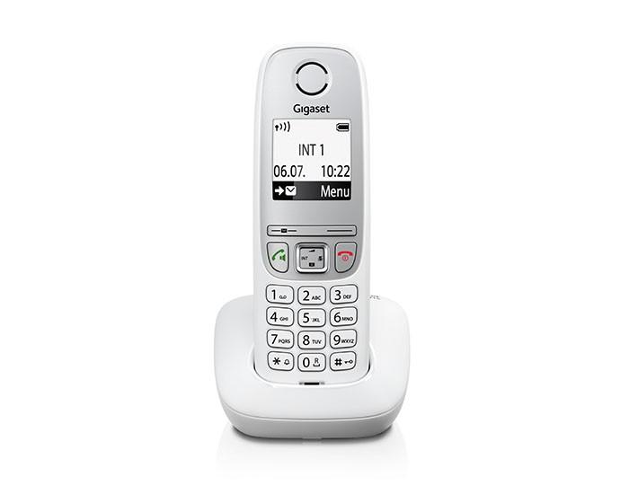 Радиотелефон Gigaset A415, БелыйРадиотелефон Dect<br><br>