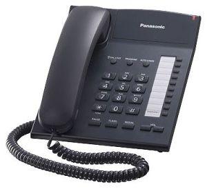 Проводной телефон Panasonic  KX-TS2382RUBПроводные телефоны<br>Panasonic kx ts2382rub: всегда приятное общение.<br>Строгий проводной телефон Panasonic kx ts2382rub черного цвета просто создан для вашего рабочего стола в офисе! С таким аппаратом отвечать на входящие звонки и делать исходящие — одно удовольствие, ведь это и приятно, и очень удобно благодаря стильному и эргономичному дизайну телефона!<br>Цена такого аппарата также вызывает истинный восторг, ведь она не просто приятная, а очень доступная! Этот телефон производит исключительно положительное впечатление и своим внешним видом, и своими функциональными характеристиками....<br><br>Тип: проводной телефон<br>Количество линий : 1<br>Память (количество номеров): 10<br>Однокнопочный набор (количество кнопок): 20<br>Переадресация (Flash): есть<br>Повторный набор номера: есть<br>Тональный набор: есть<br>Регулятор уровня громкости: есть<br>Возможность настенной установки: есть<br>Удержание линии: есть
