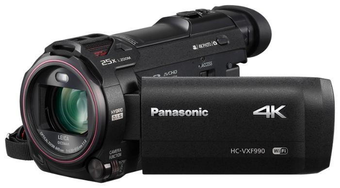 Видеокамера Panasonic HC-VXF990EE-KВидеокамеры<br><br><br>Тип: Flash<br>Максимальное разрешение видеосъемки: 3840x2160<br>Тип карты памяти: SD/SDHC/SDXC<br>Видоискатель: Есть<br>Фоторежим: Есть<br>Тип матрицы: MOS<br>Количество матриц: 1<br>Разрешение матриц Мпикс: 18.91<br>Физический размер матрицы: 1/2.3