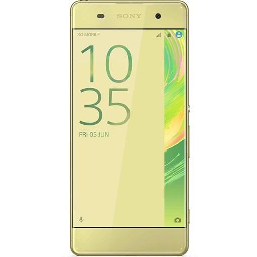 Мобильный телефон Sony F 3112 Xperia XA Dual Lime GoldМобильные телефоны<br><br><br>Тип: Смартфон<br>Стандарт: GSM 900/1800/1900, 3G, 4G LTE, LTE-A Cat. 4<br>Тип трубки: классический<br>Поддержка двух SIM-карт: есть<br>Операционная система: Android 6.0<br>Встроенная память: 16 Гб<br>Разъём для карт памяти: microSD<br>Фотокамера: 13 млн пикс., светодиодная вспышка<br>Форматы проигрывателя: MP3<br>Разъем для наушников: 3.5 мм