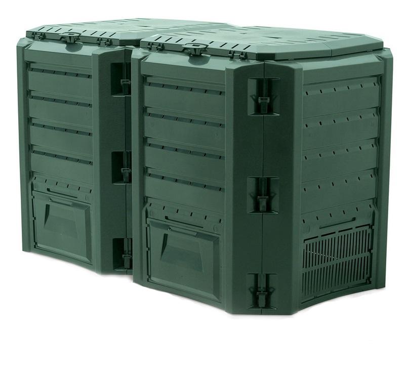 Компостер Module IKSM800Z-G851Садовые компостеры<br><br><br>Тип: компостер<br>Объем, л: 800