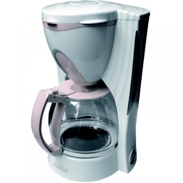 Кофеварка Smile KA 782Кофеварки и кофемашины<br>Smile KA 782 для маленьких слабостей и большого удовольствия.<br>Вкусный ароматный кофе — ваша маленькая слабость? Это просто здорово, ведь такие «слабости» приносят удовольствие, а оно наполняет нашу жизнь и поднимает настроение! Так что обязательно побалуйте себя чашечкой крепкого душистого кофе ранним утром или в разгар рабочего дня. Теперь сделать это проще простого: кофеварка Smile KA 782 в считанные минуты приготовит фантастически вкусный кофе!<br>Классическая капельная система, быстрое приготовление кофе, простое и максимально понятное управление,...<br><br>Тип : капельная кофеварка<br>Тип используемого кофе: Молотый<br>Мощность, Вт: 550<br>Фильтр  : Постоянный<br>Материал корпуса  : Пластик<br>Одновременное приготовление двух чашек  : Нет<br>Съемный лоток для сбора капель  : Нет