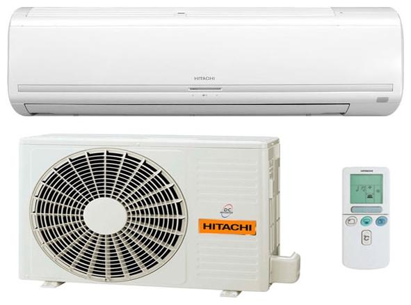 Сплит-система Hitachi RAS-24LH1/RAC-24LH1Кондиционеры<br><br><br>Тип: настенная сплит-система<br>Режим работы: охлаждение / обогрев<br>Управление: Электронное<br>Воздухообмен, м?/мин: 13.5<br>Площадь охлаждения, м2: 60<br>Мощность в режиме охлаждения, Вт: 6320<br>Мощность в режиме обогрева, Вт: 7400<br>Потребляемая мощность при обогреве, Вт: 2610<br>Потребляемая мощность при охлаждении, Вт: 2490<br>Тип хладагента: R 410A