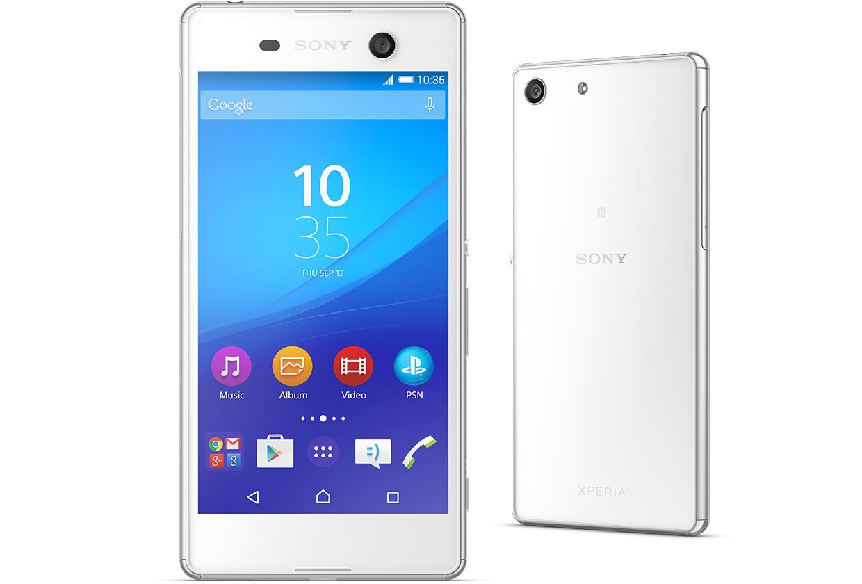 Мобильный телефон Sony Xperia M5 Dual E5633 WhiteМобильные телефоны<br><br><br>Тип: Смартфон<br>Стандарт: GSM 900/1800/1900, 3G, 4G LTE, LTE-A Cat. 4<br>Поддержка диапазонов LTE: Bands 1, 3, 5, 7, 8, 20<br>Тип трубки: классический<br>Поддержка двух SIM-карт: есть<br>Операционная система: Android 5.0<br>Встроенная память: 16 Гб<br>Фотокамера: 21.50 млн пикс., светодиодная вспышка<br>Форматы проигрывателя: MP3, AAC, WAV, WMA<br>Разъем для наушников: 3.5 мм