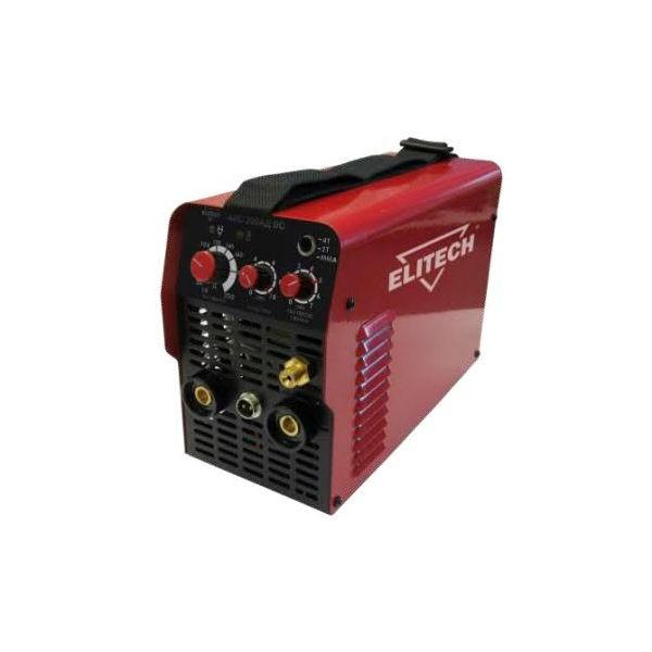 Сварочный аппарат Elitech АИС 200АД DCСварочные аппараты<br>Сварочный инвертор АИС 200АД DC предназначен для аргонодуговой сварки неплавящимся вольфрамовым электродом в среде инертного газа &amp;#40;чистый аргон&amp;#41; на постоянном токе. Данный инвертор создан по самой современной технологии IGBT c использованием мощных биполярных транзисторов с изолированным затвором. Аппарат обладает высокочастотным &amp;#40;бесконтактным&amp;#41; способом возбуждения дуги, тем самым увеличивая срок службы вольфрамового электрода.<br><br>- стабильная работа при пониженном напряжении 160 вольт!!!- позволяет использовать аппарат в таких...<br><br>Тип: сварочный инвертор<br>Количество фаз питания: 1<br>Напряжение холостого хода: 74 В<br>Мощность, кВт: 4.5<br>Диаметр электрода: 1.60-5 мм<br>Класс изоляции: Н<br>Горячий старт: есть<br>Степень защиты: IP21