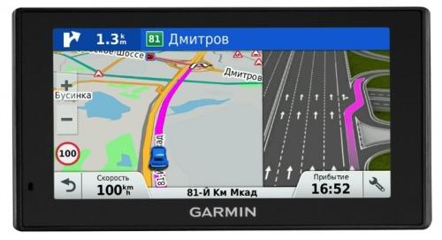 GPS навигатор Garmin DriveSmart 50 RUS LMT [010-01539-45]GPS навигаторы<br>Garmin DriveSmart™ 50 - умный надежный и недорогой<br><br>Современные GPS- навигаторы – это не просто устройства, помогающие проложить наикратчайший маршрут в незнакомом городе. Это настоящие «штурманы», которые знают и «умеют» ничуть не меньше продвинутых смартфонов и планшетных компьютеров. Отличным примером такого устройства является Garmin DriveSmart™ 50 – инновационный продукт от компании Garmin, признанного лидера рынка портативной электроники.<br><br>- Яркий и контрастный пятидюймовый дисплей с двойной ориентацией и возможность зуммирования изображения посредством...<br><br>Область применения: автомобильный<br>Возможность загрузки карты местности: Есть<br>Функция расчета маршрута: Есть<br>Програмное обеспечение: Garmin<br>Голосовые сообщения: есть<br>Тип антенны: внутренняя