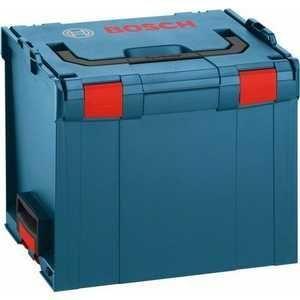 Кейс Bosch L-BOXX 374 [1.600.A00.1RT]Аксессуары для садовой техники<br>- Чемодан Bosch L-BOXX Bosch 374 1600A001RT обладает запатентованным соединением на защелках для скрепления нескольких кейсов вместе.<br>- Корпус изготовлен из прочного ABS.<br>- Надежная конструкция выдерживает до 100 кг, обладает защитой от ударов и водяных брызг.<br>- Вместительный ящик для ручного инструмента оснащен ручкой для переноски.<br><br>Тип товара: Товары для электроинструмента<br>Тип: Кейс