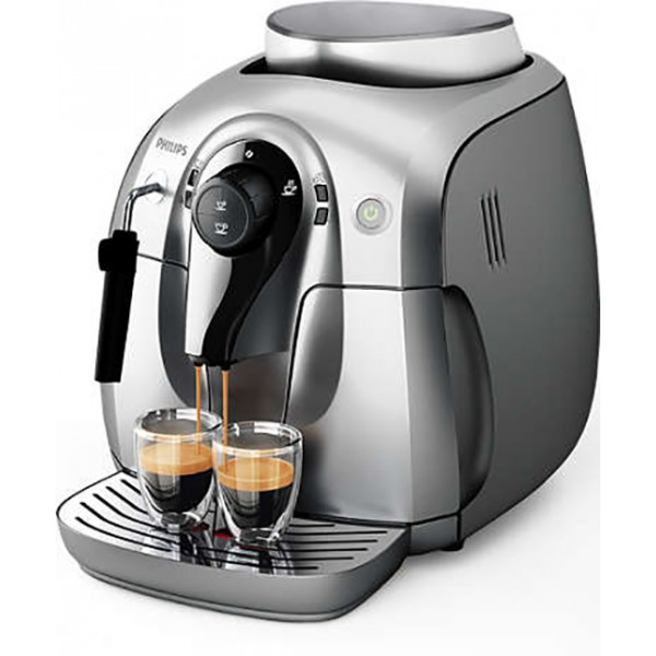 Кофемашина Philips HD 8649/51Кофеварки и кофемашины<br>Совершенный вкус благодаря керамической кофемолке Saeco<br><br>- Классический капучинатор<br>- Приготовление 2 видов кофе<br>- Регулируемая кофемолка, 5 степеней<br><br>- Эспрессо из свежемолотых кофейных зерен простым нажатием кнопки<br>Приготовьте одну или сразу две порции превосходного эспрессо, сваренного из свежемолотых кофейных зерен, просто нажав на кнопку и подождав несколько секунд.<br><br>- Потрясающий вкус благодаря 100%-но керамическим жерновам<br>Забудьте о жженом привкусе кофе благодаря 100%-но керамическим жерновам, которые не перегревают зерна. Керамика гарантирует...<br><br>Тип используемого кофе: Зерновой<br>Мощность, Вт: 1400<br>Объем, л: 1<br>Давление помпы, бар  : 15<br>Материал корпуса  : Пластик<br>Встроенная кофемолка: Есть<br>Емкость контейнера для зерен, г  : 180<br>Одновременное приготовление двух чашек  : Есть<br>Съемный лоток для сбора капель  : Есть