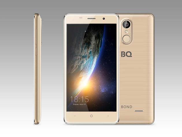 Мобильный телефон BQ BQ-5022 Bond GoldМобильные телефоны<br><br>
