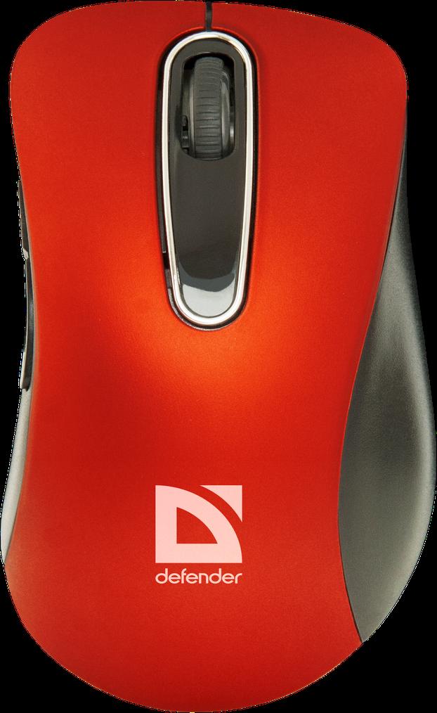 Компьютерная мышь Defender Datum MM-075 Red USBКомпьютерные мыши<br><br>