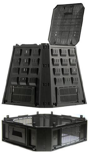 Компостер Evogreen IKEV850C-S411Садовые компостеры<br><br><br>Тип: компостер<br>Объем, л: 850