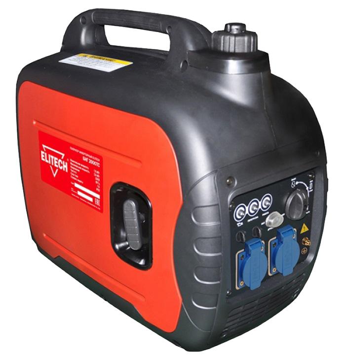 Электрогенератор Elitech БИГ 2000ТСЭлектрогенераторы<br><br><br>Тип электростанции: бензиновая, инверторная<br>Тип запуска: ручной<br>Число фаз: 1<br>Объем бака: 4 л<br>Активная мощность, Вт: 1600