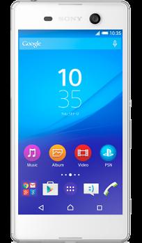 Мобильный телефон Sony Xperia M5 E5603 WhiteМобильные телефоны<br><br><br>Тип: Смартфон<br>Стандарт: GSM 900/1800/1900, 3G, 4G LTE, LTE-A Cat. 4<br>Поддержка диапазонов LTE: Bands 1, 3, 5, 7, 8, 20<br>Тип трубки: классический<br>Операционная система: Android 5.0<br>Встроенная память: 16 Гб<br>Фотокамера: 21.50 млн пикс., светодиодная вспышка<br>Форматы проигрывателя: MP3, AAC, WAV, WMA<br>Разъем для наушников: 3.5 мм<br>Спутниковая навигация: GPS/ГЛОНАСС