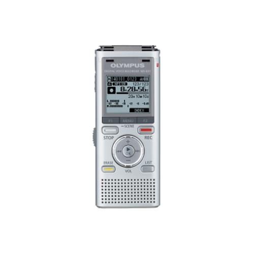Диктофон Olympus WS-831 Silver + ME51SДиктофоны<br>Микрофон ME51S оеспечивает фантастическое качество записи: чувсвительность 40 дБ на 1кГц, частотный диапазон 100-15000 гЦ.<br><br>Тип: Цифровой диктофон<br>Обьём встроенной памяти Mb: 2000<br>Разём для карт памяти: Secure Digital<br>Мощность звука (на канал) мВт: 150<br>Блокировка кнопок: Есть<br>Встроенный динамик: есть