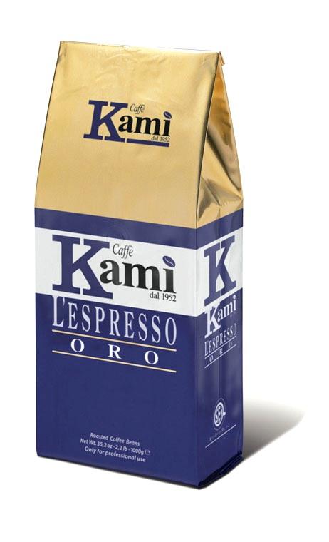 Кофе в зернах Kami Oro bag 1000г