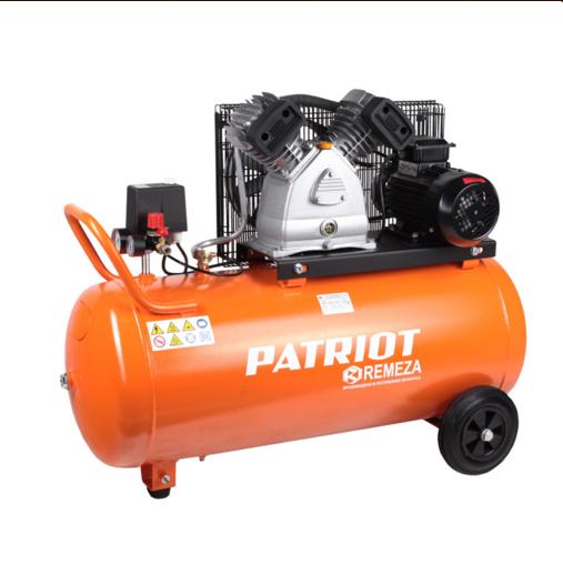 Компрессор Patriot REMEZA СБ 4/С-100 LB 30Воздушные компрессоры<br>Двухцилиндровый компрессор с ременной передачей. Увеличенной производительности. Применяется для сервисных; ремонтных работ в гараже; на шиномонтаже и автосервисе.<br>