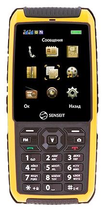 Мобильный телефон Senseit P101 YellowМобильные телефоны<br><br>