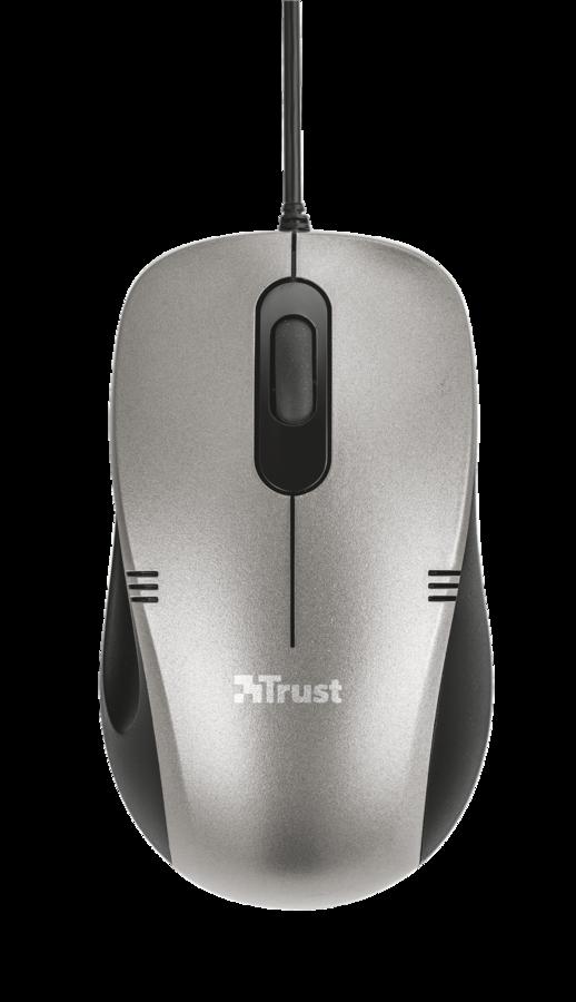 Компьютерная мышь Trust Ivero Compact Mouse Black-Grey USB (20404)