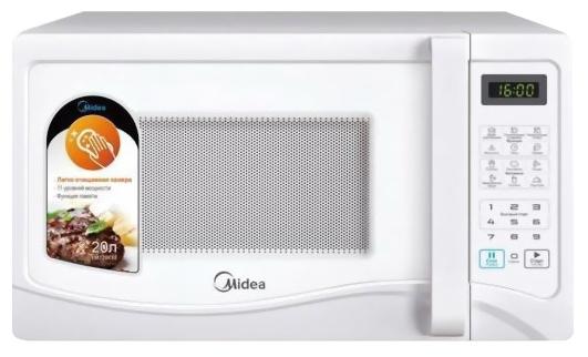 Микроволновая печь Midea EG720CEEМикроволновые печи<br><br><br>Объём, литров: 20<br>Тип: Микроволновая печь<br>Тип управления: Электронное<br>Дисплей: Есть<br>Переключатели: Сенсорные
