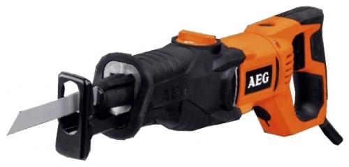 Сабельная пила AEG 419610 US 900 XEПилы<br>- Мощный двигатель на 900 Вт для быстрого резания различных материалов<br>- Маятниковая функция с длиной хода 19 мм для быстрого и мощного резания<br>- Настройка скорости в диапазоне 0–3500 ходов в минуту особенно важна при работе с материалами, чувствительными к нагреву<br>- Система FIXTEC для быстрой и легкой замены пильных полотен<br>- Более высокая управляемость благодаря уменьшению веса на 24% по сравнению с другими пилами<br>- Установка пильного полотна при помощи одной руки<br>- Эргономичная рукоятка с покрытием Soft Grip<br>- Поставляется с кабелем 4 м и двумя пильными...<br><br>Тип: сабельная пила<br>Конструкция: ручная<br>Мощность, Вт: 900<br>Функции и возможности: плавная регулировка скорости<br>Дополнительно: размер хода 19 мм. Число ходов в минуту 3500. Длина сетевого кабеля 4 м
