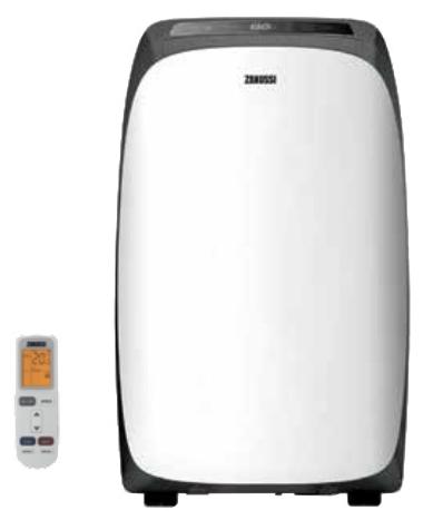 Мобильный моноблок Zanussi ZACM-09 DV/H/A16/N1Кондиционеры<br><br><br>Режим работы: охлаждение / обогрев<br>Воздухообмен, м?/мин: 6.83<br>Площадь охлаждения, м2: 25<br>Мощность в режиме охлаждения, Вт: 2650<br>Мощность в режиме обогрева, Вт: 2610<br>Потребляемая мощность при обогреве, Вт: 863<br>Потребляемая мощность при охлаждении, Вт: 977<br>Тип хладагента: R 410A<br>Фаза : однофазный