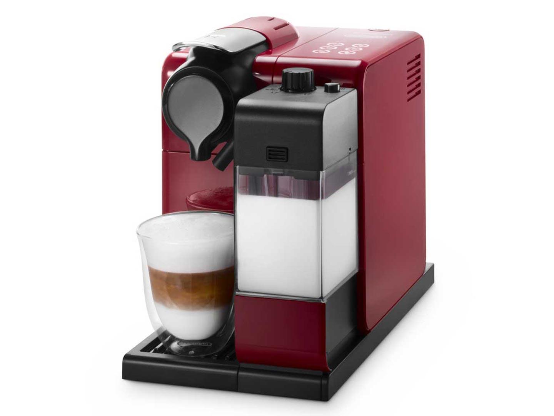 Кофеварка Delonghi EN 550 RКофеварки и кофемашины<br><br><br>Тип : капельная кофеварка<br>Тип используемого кофе: Капсулы<br>Мощность, Вт: 1400<br>Объем, л: 0.9<br>Давление помпы, бар  : 19<br>Материал корпуса  : Пластик<br>Одновременное приготовление двух чашек  : Нет<br>Контейнер для отходов  : Есть<br>Съемный лоток для сбора капель  : Есть