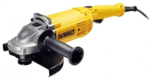 Угловая шлифмашина DeWALT DWE 492 SШлифовальные и заточные машины<br>Угловая шлифмашина Dewalt DWE 492 S оснащена мощным двигателем, что обеспечивает высокую производительность. Функция плавного пуска делает работу более точной и комфортной. Дополнительную рукоятку, в зависимости от предпочтений оператора, можно установить справа или слева. Диск диаметром 230 мм способствует эффективной обработке больших поверхностей.<br>