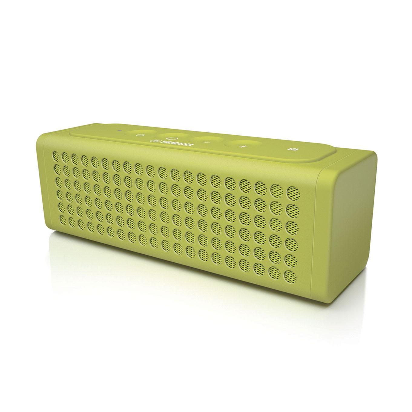 Портативная акустика Yamaha Powered Speaker NX-P100G Light GreenАкустические системы<br>Модель NX-P100 выступает в роли вашего компаньона по музыке &amp;mdash; и даже больше. Аккумулятор обеспечивает непрерывную работу в течение восьми часов. Устройство может даже поддержать жизнь самой музыки: если в смартфоне сядет аккумулятор, NX-P100 можно использовать для его подзарядки (по USB).<br> <br>Прилагаемый микрофон с поддержкой стандарта HD Voice позволяет разговаривать по телефону с более высоким качеством звука без использования трубки. А если на мобильном устройстве под управлением iOS у вас установлена &amp;laquo;персональный ассистент&amp;raquo; — программа Siri,...<br><br>Акустическое излучение: монополярная<br>Состав комплекта: портативное аудио<br>Количество полос: 2<br>Мощность, Вт: 2 Вт