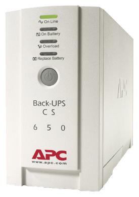 Источник питания APC by Schneider Electric Back-UPS CS 650VA 230V (BK650EI)Источники бесперебойного питания<br><br>