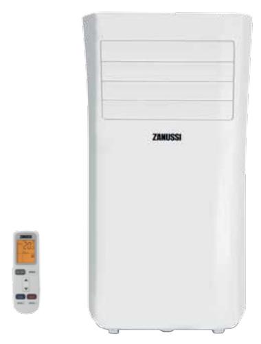 Кондиционер Zanussi ZACM-09 MP-II/N1Кондиционеры<br><br><br>Тип: мобильный кондиционер<br>Режим работы: охлаждение<br>Воздухообмен, м?/мин: 5.83<br>Площадь охлаждения, м2: 25<br>Мощность в режиме охлаждения, Вт: 2600<br>Потребляемая мощность при охлаждении, Вт: 945<br>Фаза : однофазный