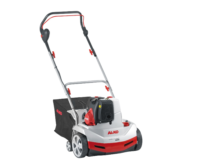 Аэратор AL-KO Comfort 38 P Combi CareСкарификаторы и аэраторы<br>3-в-1: Рыхление, аэрирование, сбор травы. Замена вала без помощи инструментов. Вал-аэратор, вал-рыхлитель и травосборник в комплекте. Бензиновый двигатель обеспечивает независимость от электросети.<br><br>Тип: аэратор<br>Мощность двигателя: 1,3 кВт<br>Рабочая ширина аэратора, см: 37<br>Емкость травосборника, л: 55