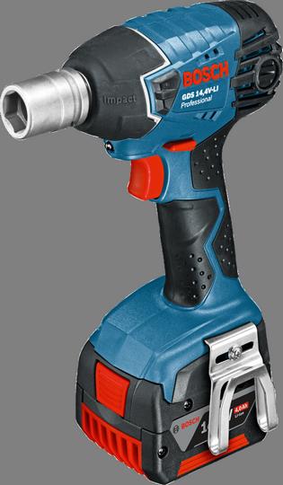 Гайковерт Bosch GDS 14,4 V-LI 4.0Ah x2 L-BOXX [06019A1T06]