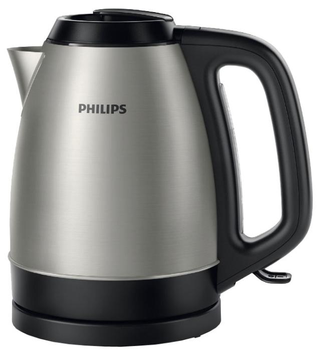 Электрочайник Philips HD 9305/21Чайники и термопоты<br><br><br>Тип   : Электрочайник<br>Объем, л  : 1.5<br>Мощность, Вт  : 2200<br>Тип нагревательного элемента: Закрытая спираль<br>Материал корпуса  : металл<br>Индикатор уровня воды  : Есть<br>Фильтр  : Есть<br>Отсек для хранения шнура: Есть