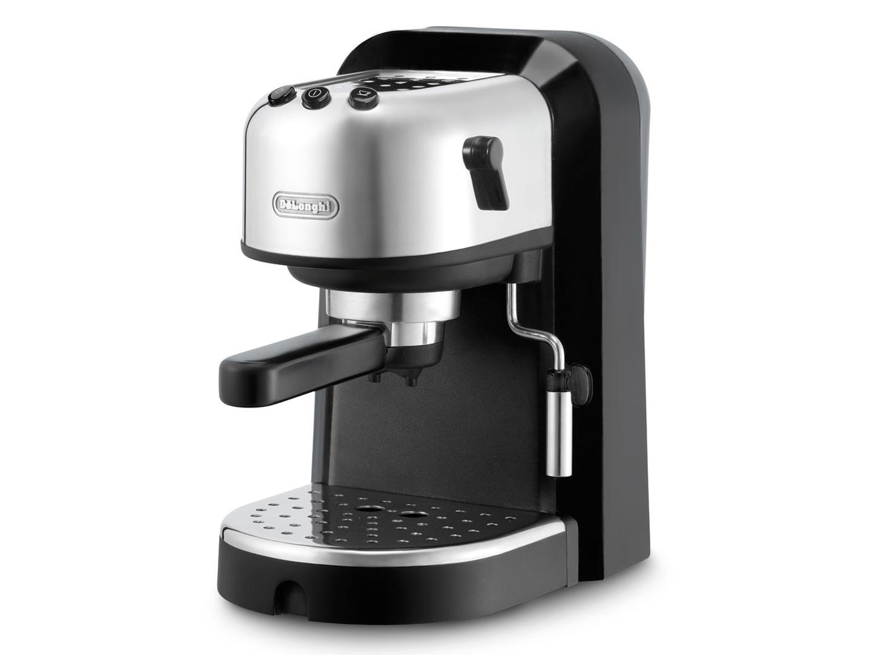 Кофеварка Delonghi EC 271 BКофеварки и кофемашины<br><br><br>Тип : зерновая кофемашина<br>Тип используемого кофе: Молотый<br>Мощность, Вт: 1100<br>Объем, л: 1<br>Давление помпы, бар  : 15<br>Одновременное приготовление двух чашек  : Есть<br>Подогрев чашек  : Есть