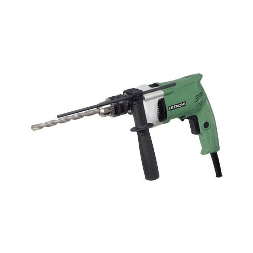 Дрель-шуруповерт Hitachi DV16VSSДрели, шуруповерты, гайковерты<br>Ударная дрель Hitachi DV16VSS - легкий - всего 1.5 кг и компактный инструмент. Двигатель с мощностью 600 Вт и числом оборотов 0-2900 в минуту. Работает в двух режимах: сверление и ударное сверление в различных материалах &amp;#40;камне, дереве, металле, керамике и пластике&amp;#41;.<br><br>Тип: дрель-шуруповерт<br>Тип инструмента: ударный<br>Количество скоростей работы: 1<br>Питание: от сети<br>Возможности: реверс, электронная регулировка частоты вращения