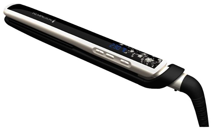 Щипцы Remington S 9500Фены и щипцы<br><br><br>Тип: Щипцы<br>Максимальная температура нагрева, С.: 235<br>Насадки в комплекте: для выпрямления<br>Керамическое покрытие насадок: Есть<br>Индикация включения: Есть<br>Длина сетевого шнура, м: 3