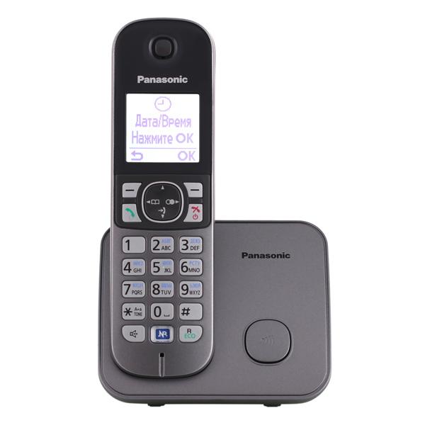 Радиотелефон Panasonic KX-TG6811RUMРадиотелефон Dect<br>Panasonic kx tg6811rum: вы нашли то, что нужно!<br>Каким вы видите идеальный телефон? Разумеется, удобным, легким в обращении, имеющим много полезных функций и возможностей, стильным и, конечно, недорогим. Еще у него должна быть хорошая репутация, подтвержденная отзывами покупателей. Теперь перейдем к главному вопросу: где же найти такой телефон?<br>Хотим вас обрадовать, искать больше не нужно, ведь вы уже его нашли! Он прямо перед вами — радиотелефон Panasonic kx tg6811rum! Функциональный, стильный, надежный, недорогой, именно такой, как вы и хотели!<br>Полное и подробное описание...<br><br>Тип: Радиотелефон<br>Количество трубок: 1<br>Рабочая частота: 1880-1900 МГц<br>Стандарт: DECT/GAP<br>Возможность набора на базе: Нет<br>Проводная трубка на базе : Нет<br>Время работы трубки (режим разг. / режим ожид.): 15 / 170 ч<br>Дисплей: на трубке, 2 строки<br>Подсветка кнопок на трубке: Есть<br>Журнал номеров: 50