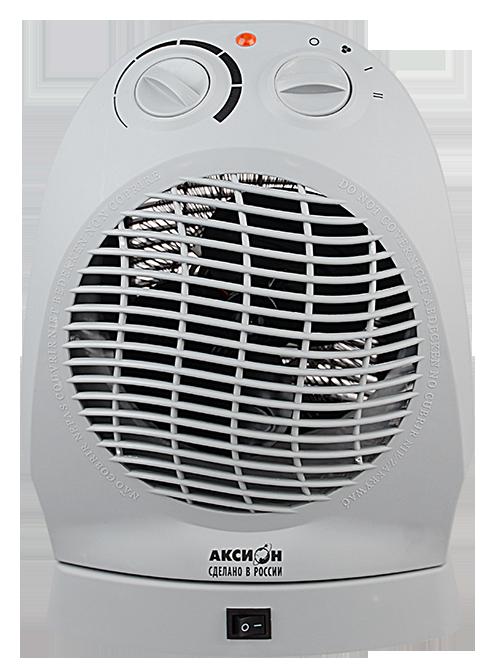 Термовентилятор  Аксион ТВ 12Обогреватели<br><br><br>Тип: термовентилятор<br>Максимальная мощность обогрева: 1600 Вт<br>Площадь обогрева, кв.м: 18<br>Вентиляция без нагрева: есть<br>Вентилятор : есть<br>Управление: механическое<br>Регулировка температуры: есть<br>Термостат: есть<br>Выключатель со световым индикатором: есть<br>Поворот корпуса: есть