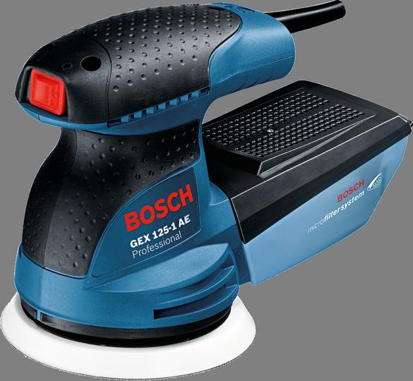 Эксцентриковая шлифмашина Bosch GEX 125-1 AE [0601387501]