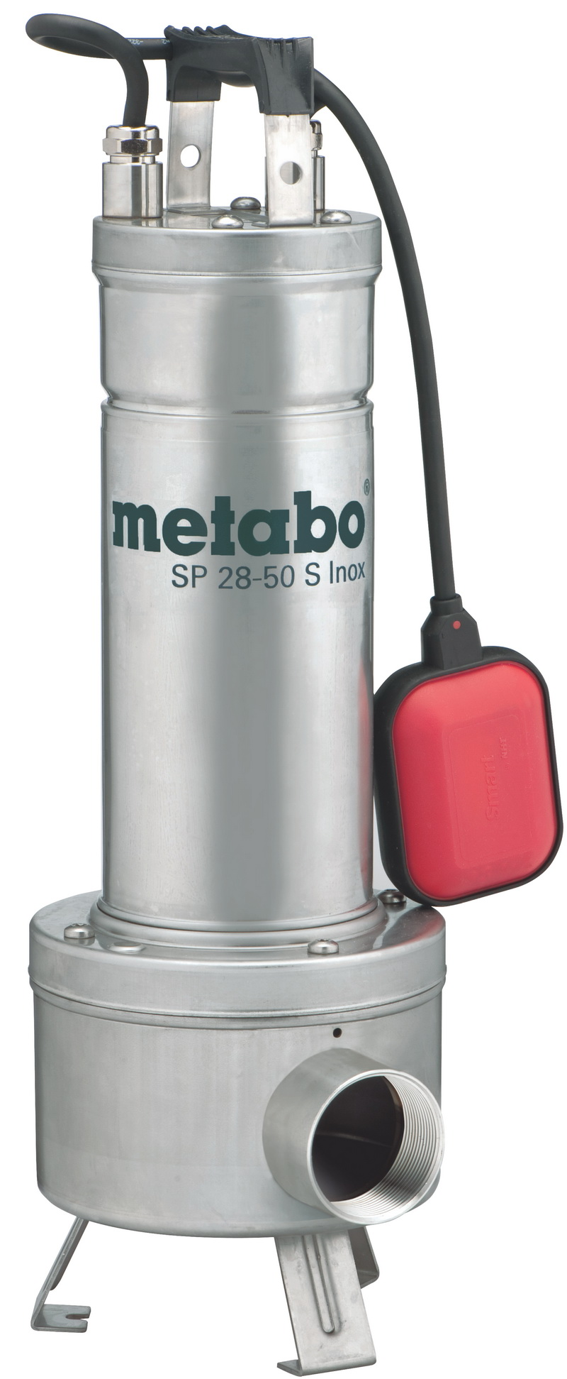 Насос Metabo SP 28-50 S Inox [604114000]Насосы<br>Комплект поставки:<br>- Metabo SP 28-50 S Inox<br>- поплавковый выключатель<br>- сетевой шнур &amp;#40;10 м&amp;#41;<br><br>Особенности модели:<br>- Удобное использование - Насос оборудован рукояткой для удобства транспортировки.<br>- Качественная работа - Поплавковая система включения обеспечивает работу насоса в автоматическом режиме, предотвращая тем самым сухой ход.<br>- Надёжность - Прочный корпус грязевого насоса Metabo SP 28-50 S Inox предохраняет внутренние детали от повреждений и способствует продлению срока службы.<br><br>Преимущества:<br>- Диаметр твердых частиц в перекачиваемой жидкости диаметром...<br>