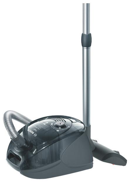 Пылесос  Bosch BSG 62185Пылесосы<br><br><br>Тип: Пылесос<br>Потребляемая мощность, Вт: 2100<br>Мощность всасывания, Вт: 380<br>Тип уборки: Сухая<br>Регулятор мощности на корпусе: Есть<br>Фильтр тонкой очистки: Есть<br>Число ступеней фильтрации: 12<br>Пылесборник: Мешок/циклонный фильтр<br>Индикатор заполнения пылесборника: Есть