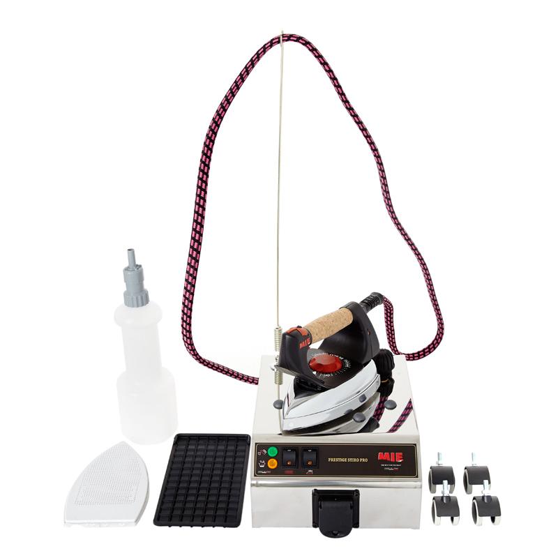 Парогенератор MIE Stiro Pro InoxУтюги и гладильные системы<br><br><br>Тип : Парогенератор<br>Мощность, Вт: 1100<br>Объём резервуара для воды, мл: 1300