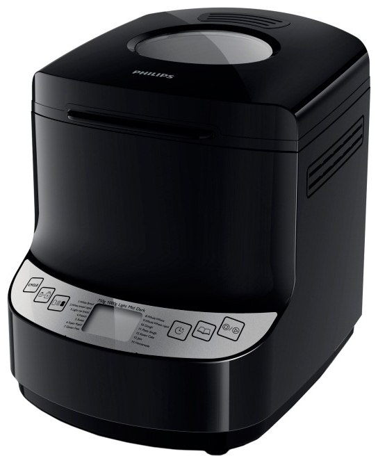 Хлебопечь Philips HD 9046Хлебопечки<br><br><br>Тип: Хлебопечь<br>Максимальный вес выпечки, г: 1000<br>Регулировка веса выпечки: Есть<br>Выбор цвета корочки: Есть<br>Таймер: Есть<br>Поддержание температуры: Есть