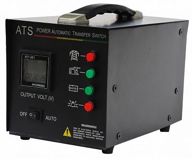 Блок автоматики Hyundai ATS15 220vЭлектрогенераторы<br>Блок автоматики ATS15 220v Hyundai предназначен для автоматического управления и контроля режимов работы генератора, подключенного к системе электроснабжения, а также контроля сети. Используется с электростанциями HY 7000LER; HY 9000LER.<br>