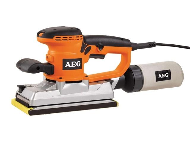 Вибрационная шлифмашина AEG 419280 FS280Шлифовальные и заточные машины<br>Вибрационная шлифмашина AEG FS280 419280 позволяет выравнивать поверхности, удалять слой старой краски &amp;#40;лака&amp;#41;, шлифовать поверхности и изделия из различных материалов. Инструмент оснащён надёжным двигателем мощность 440 Вт. Мешок для сбора пыли позволяет поддерживать рабочее место в чистоте. Размер шлифовальной подошвы - 114 х 226 мм.<br><br>Длина листа/ленты, мм: 226<br>Ширина листа/ленты, мм: 114