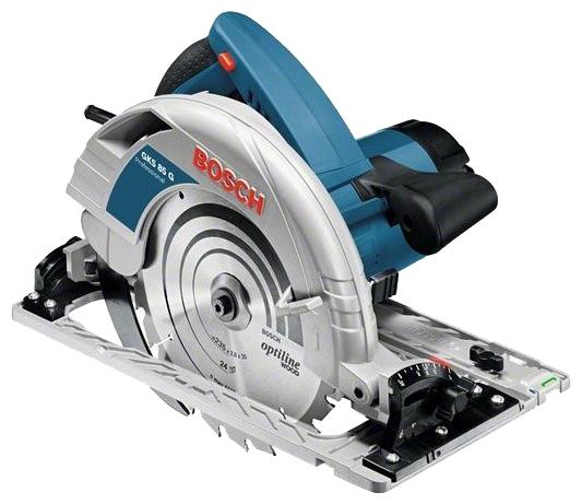 Дисковая пила Bosch GKS 85 G [060157A900]Пилы<br><br><br>Тип: дисковая<br>Конструкция: ручная<br>Мощность, Вт: 2200 Вт<br>Функции и возможности: плавный пуск, блокировка шпинделя, подключение пылесоса