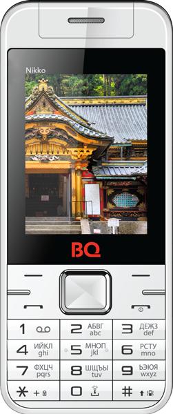 Мобильный телефон BQ BQM-2424 Nikko White/RedМобильные телефоны<br><br>