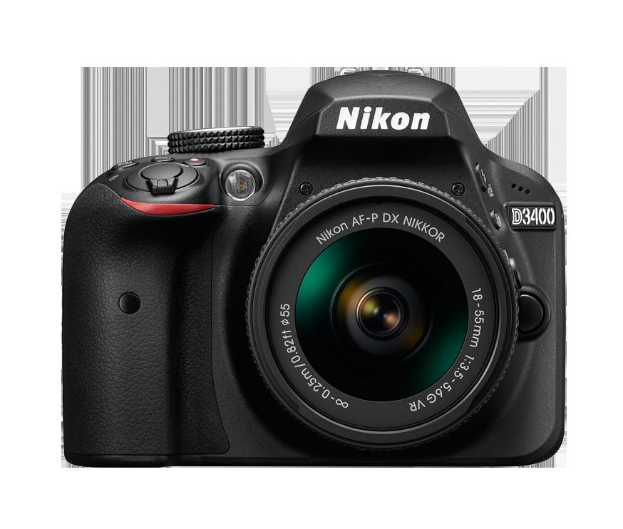Зеркальный фотоаппарат Nikon D3400 AF-P 18-55 VR + AF-P 70-300VRЦифровые зеркальные фотоаппараты<br><br><br>Тип: Цифровая зеркальная фотокамера<br>Стабилизатор изображения: нет<br>Вспышка: есть<br>Кроп фактор: 1.5<br>Тип матрицы: CMOS<br>Размер матрицы: APS-C (23.5 x 15.6 мм)<br>Число эффективных пикселов, Mp: 24.2 млн<br>Чувствительность: 100 - 3200 ISO, Auto ISO<br>Фокусировка: по лицу<br>Режимы замера экспозиции: мультизонный, центровзвешенный, точечный
